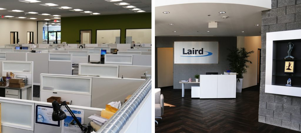 Laird work space, Flint, MI