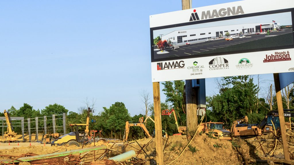 Magna future site, Grand Blanc Township