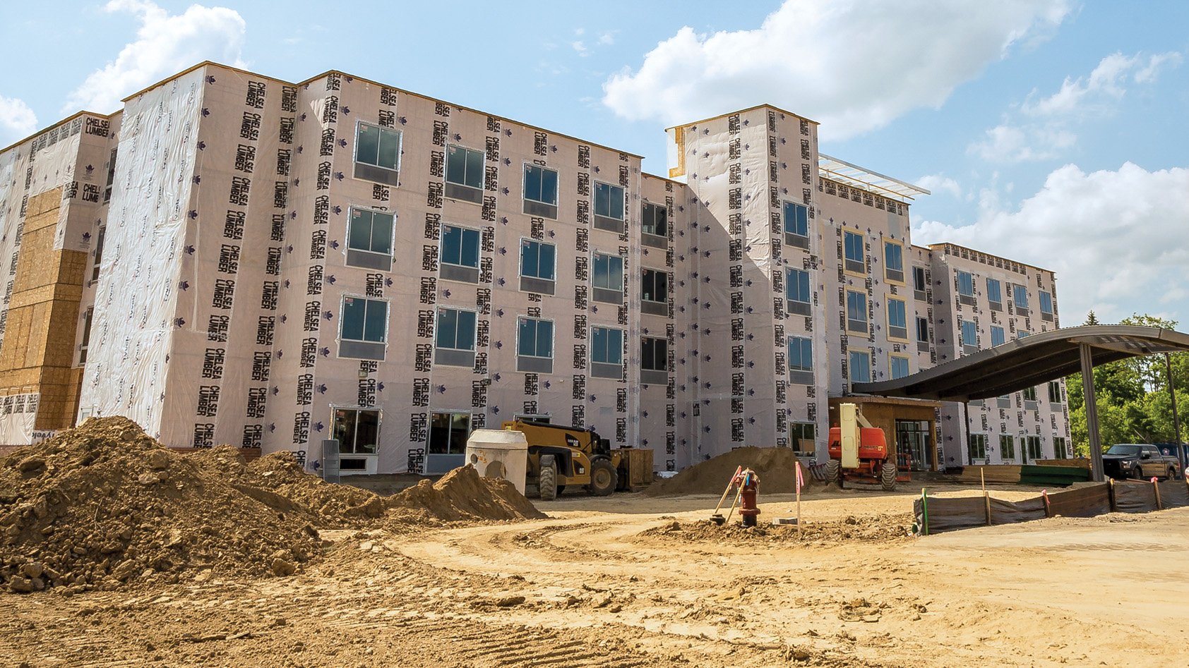 Construction of Fairfield Inn & Suites, Grand Blanc Twp, MI