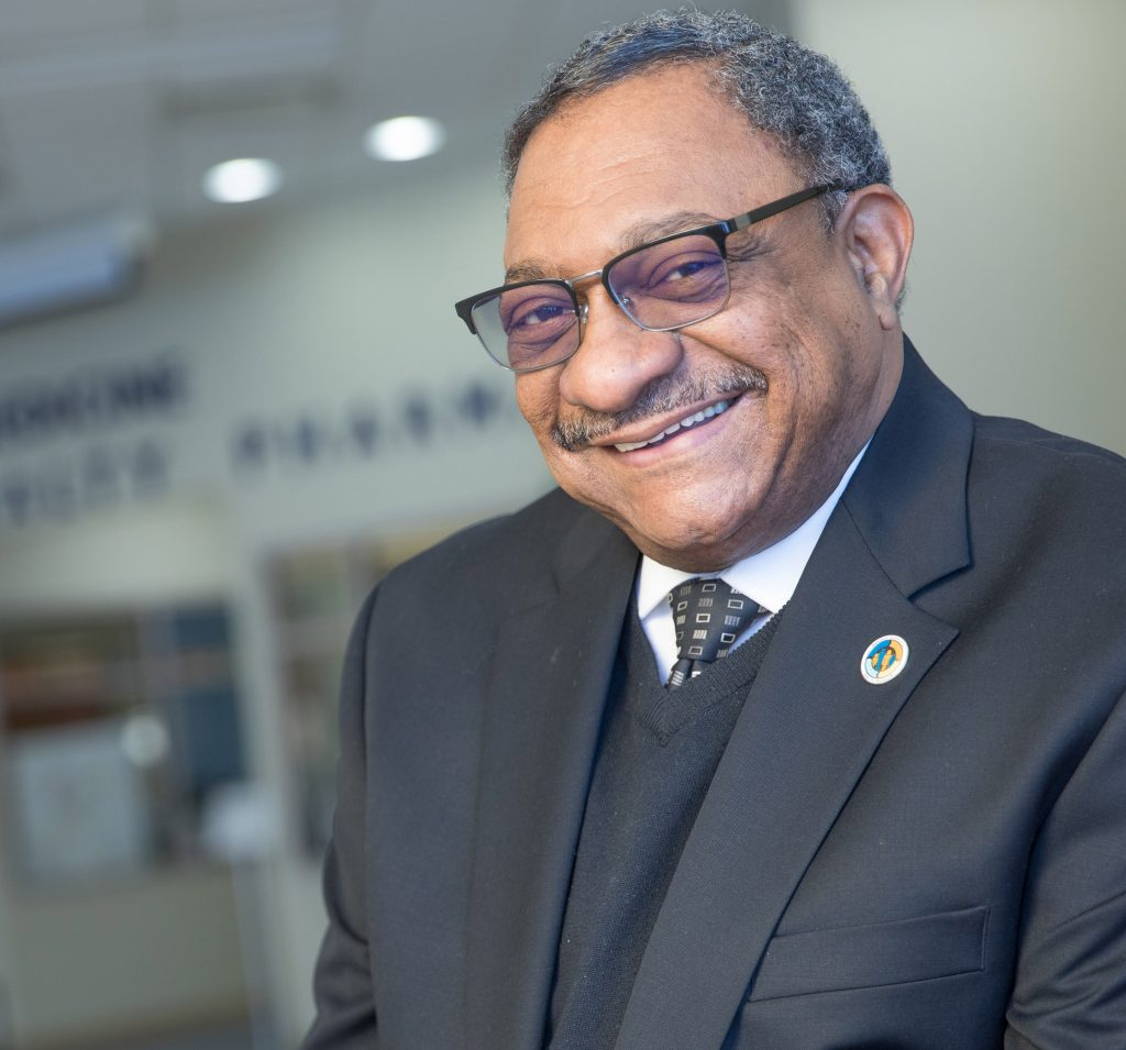 Clarence Pierce, CEO, Hamilton Community Health, Flint, MI