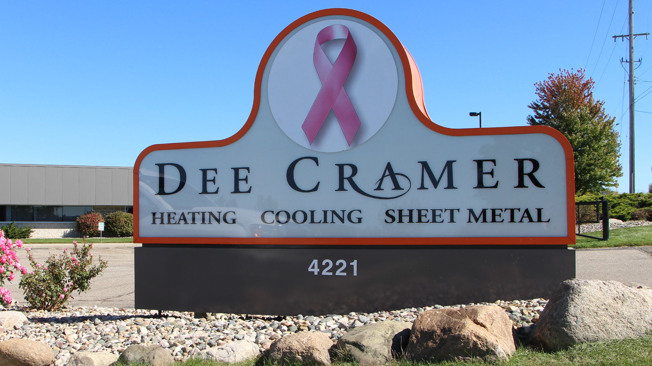 Dee Cramer supporting Breast Cancer Awareness