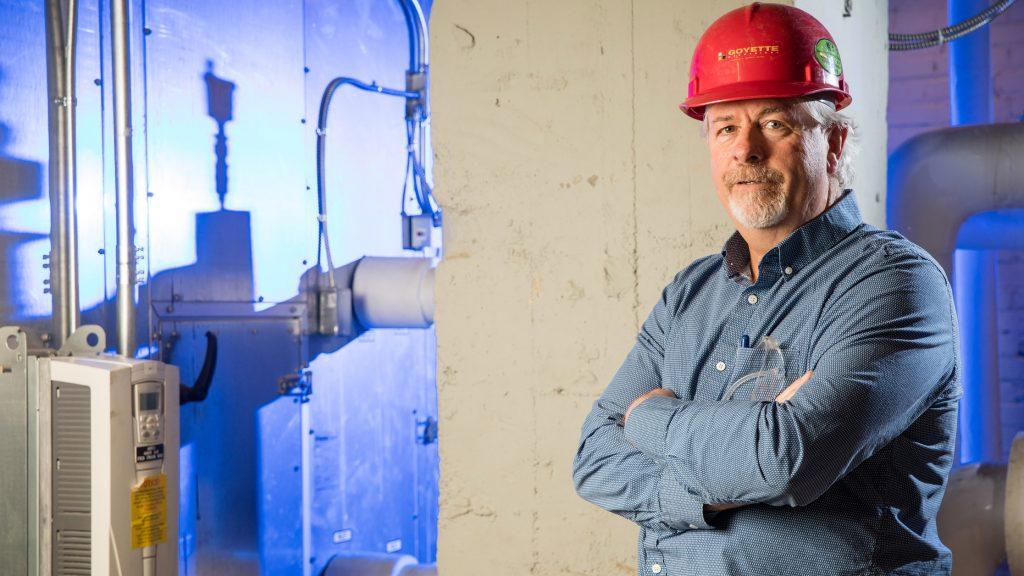 Tom Halligan of Goyette Mechanical, Flint, MI