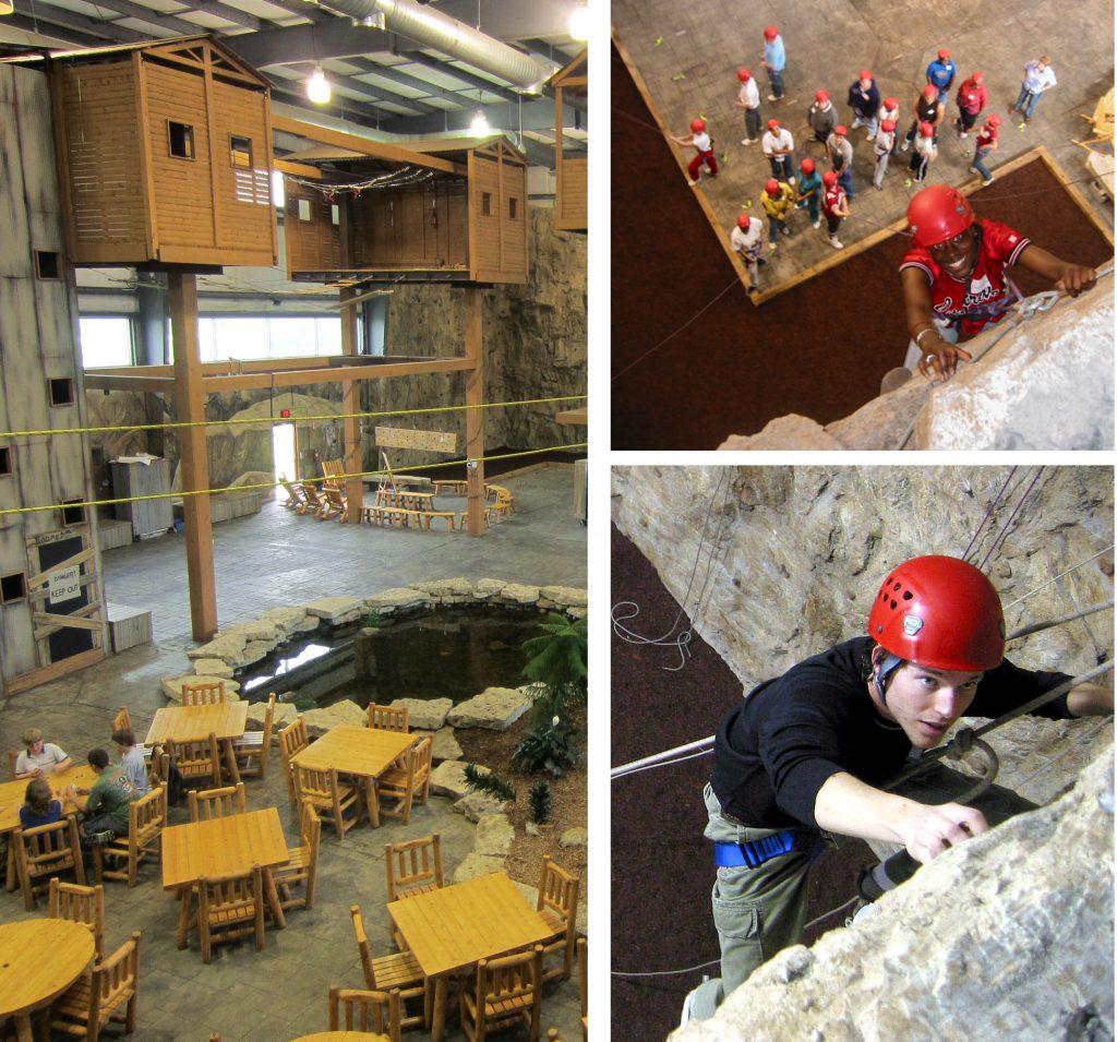 Base Camp Challenge Center inside Genesee Career Institute, Flint, MI