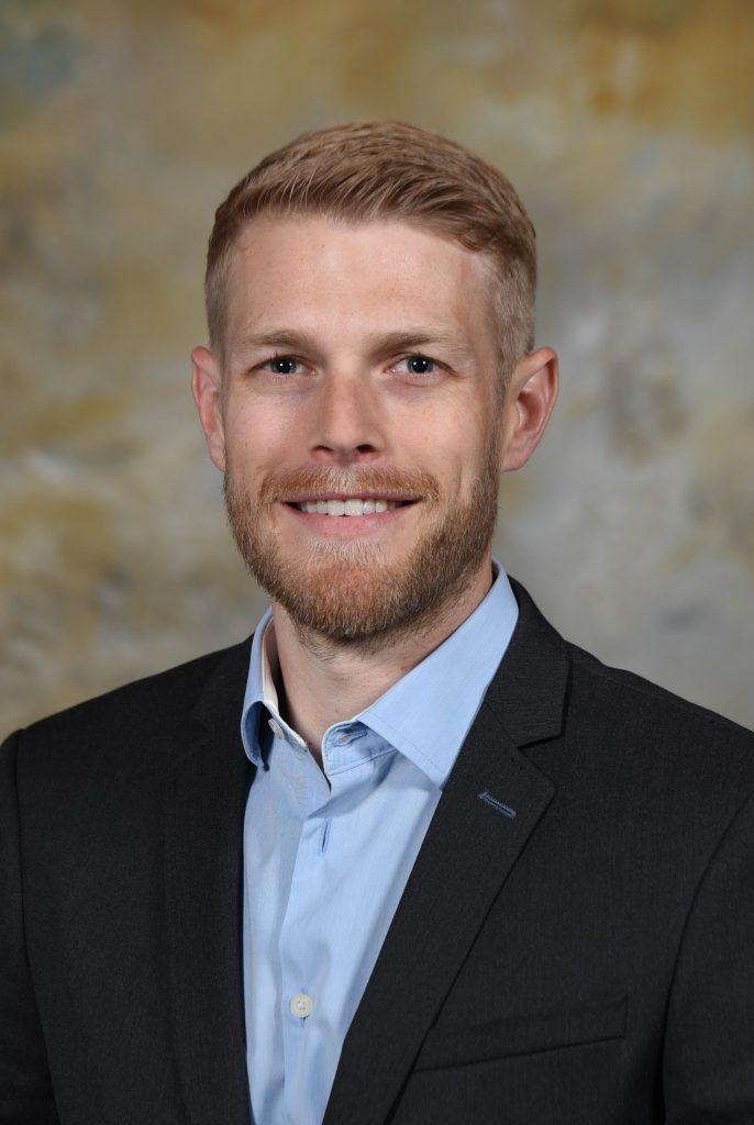 Jason Caya, Chair, Hurley Medical Center Board of Managers, Flint, MI