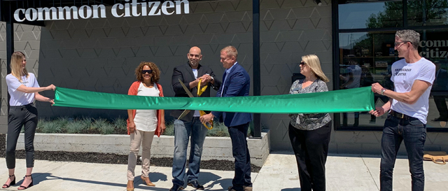 Common Citizen ribbon cutting, Flint, MI