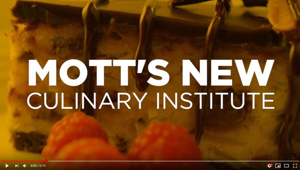 Mott Community College Culinary Institute video