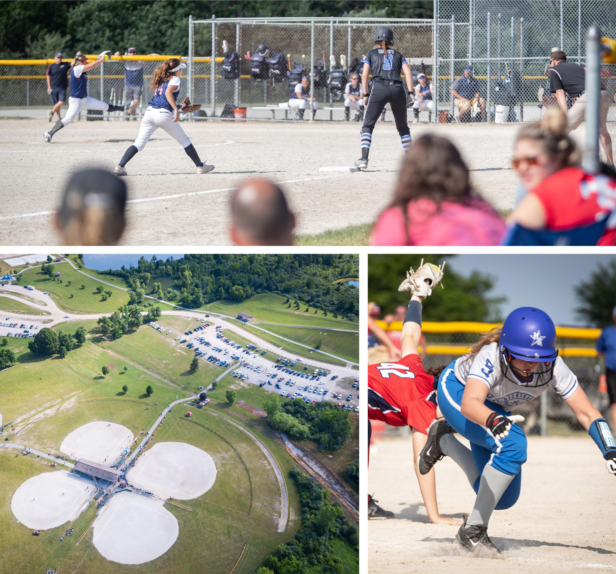 Firestix Softball Tournament held at Bicentennial Park in Grand Blanc, MI