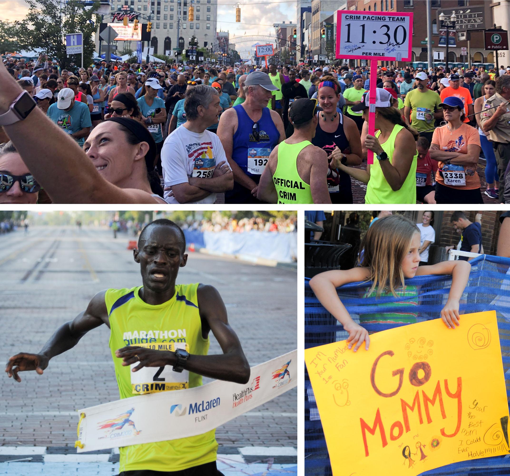 Runners in the Crim Festival of Races, Flint, MI