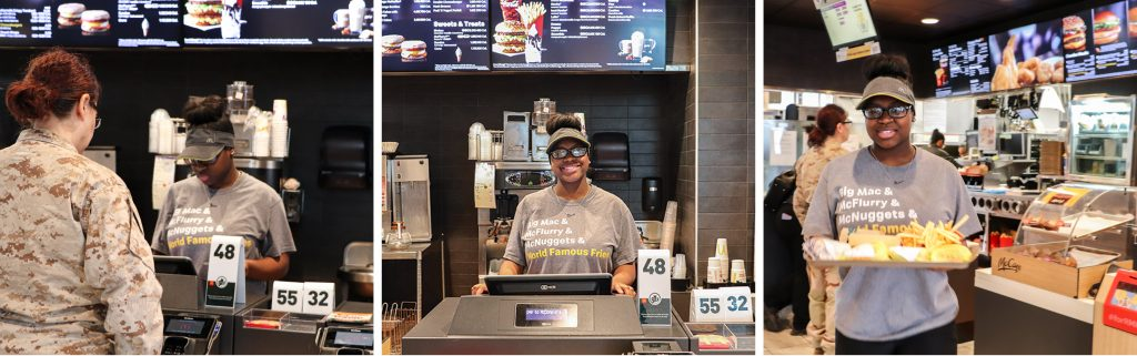 TeenQuest graduate employed by McDonalds