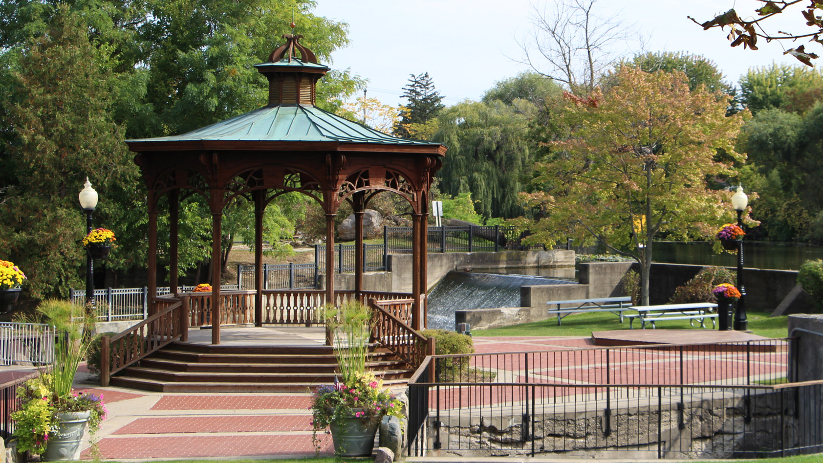 The Gazebo in Fenton Michigan