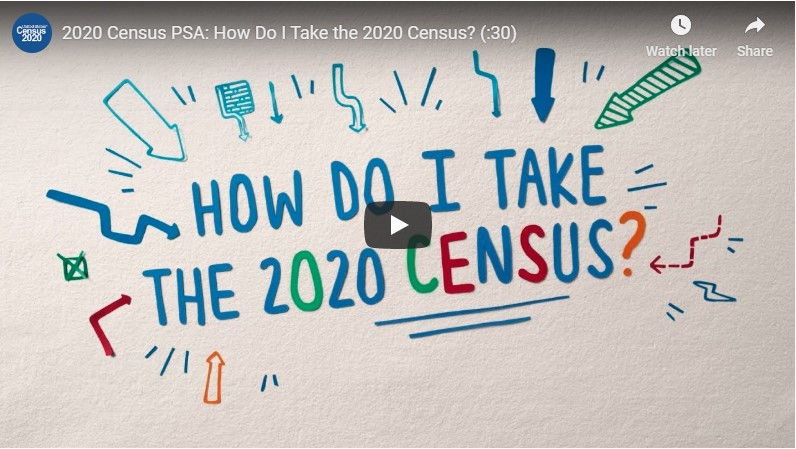 Video on how to take the census