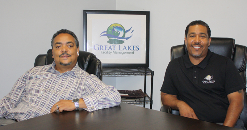 Fletcher Rheaves, owner of Great Lakes Facility Management