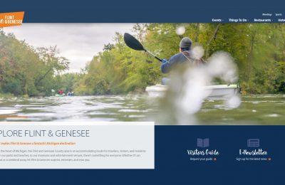 Experience the delights of Flint & Genesee at exploreflintandgenesee.org: Convention and Visitors Bureau unveils new website