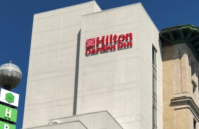 An iconic, historic building set to begin life anew as downtown Flint's Hilton Garden Inn