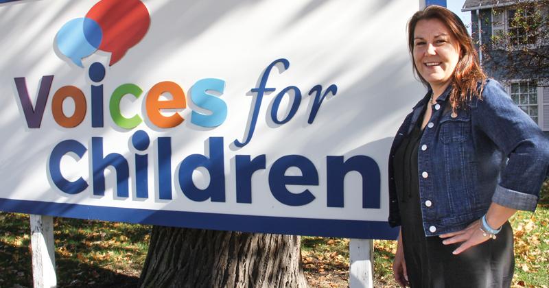 Voices for Children Advocacy Center forensic interviewer, Angie Essenburg