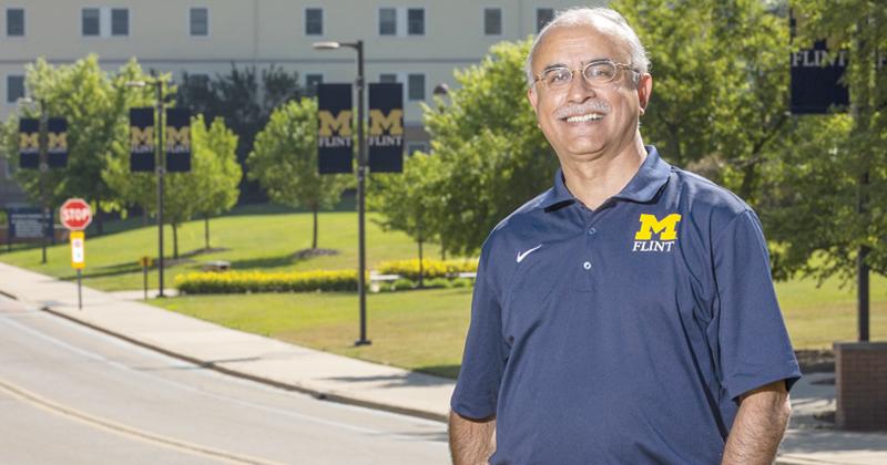 Debasish Dutta, chancellor, University of Michigan-Flint