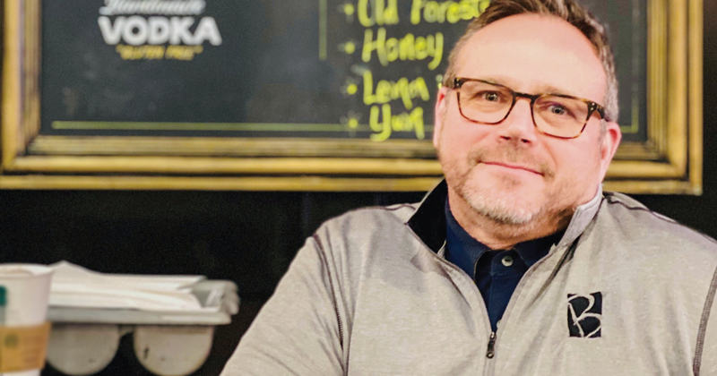 Jerrid Heidel, owner Blackstone's restaurant