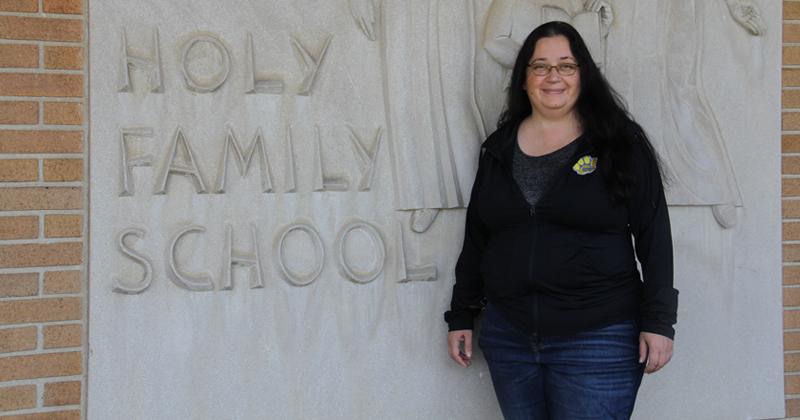 Maria Gonzalez, Holy Family School teacher