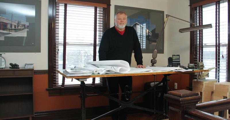 Jeffrey Ferweda, president of Sedgewick and Ferweda Architects