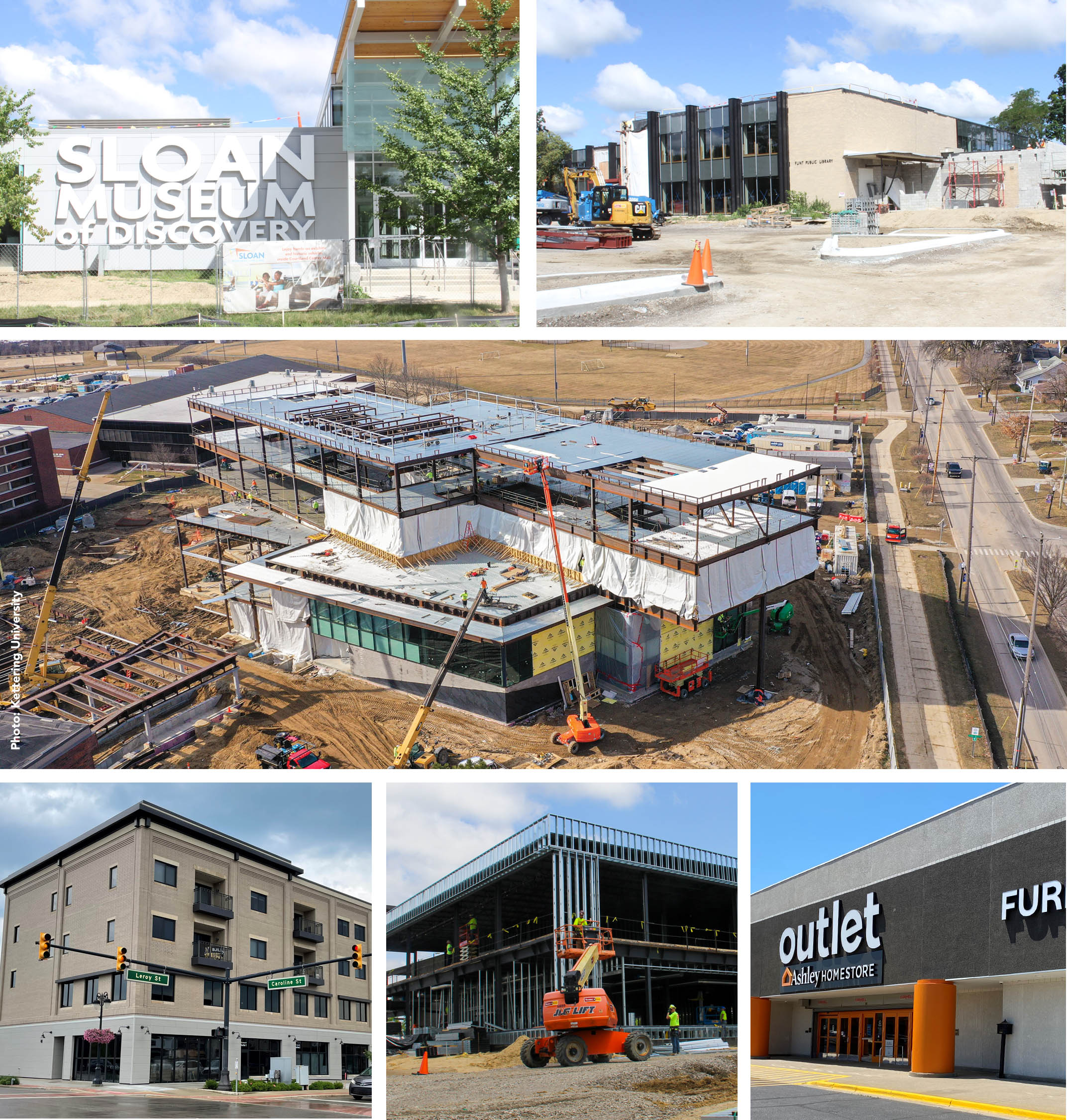 Construction projects in Genesee County, Michigan