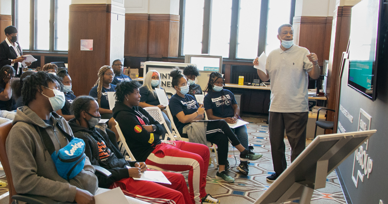 Students learn about summer employment