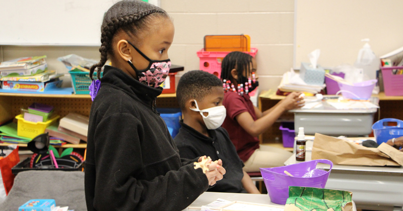 Students at International Academy of Flint