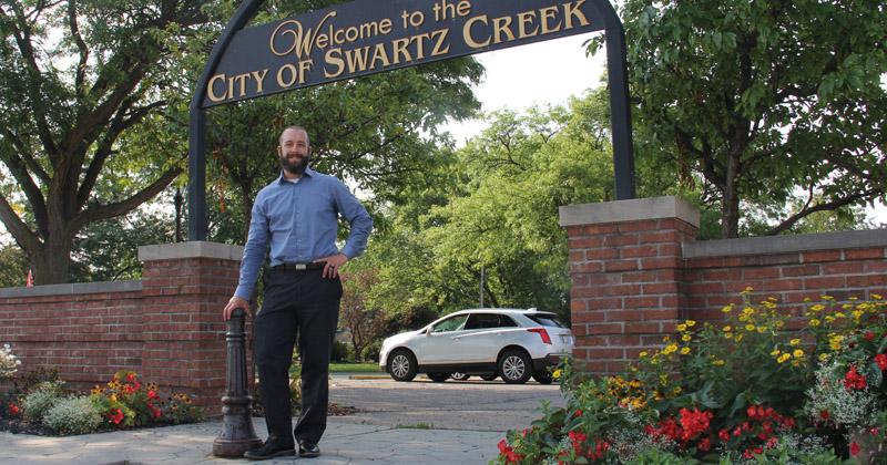 Swartz Creek City Manager, Adam Zettle