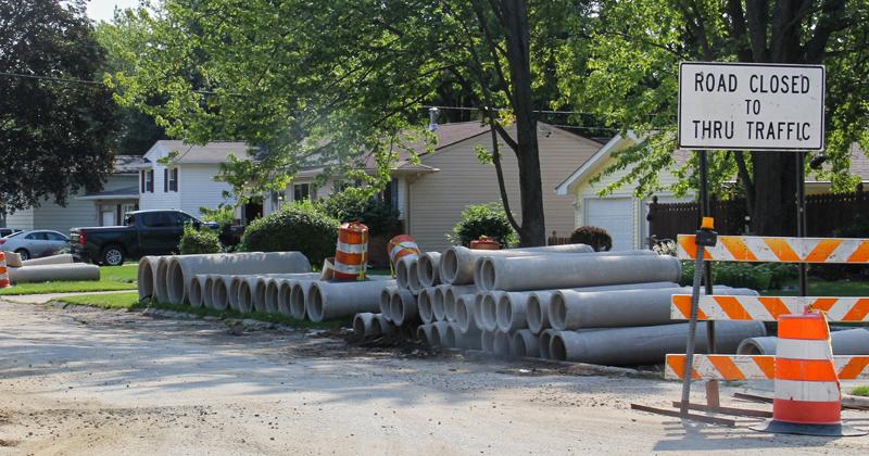 Road improvements in Swartz Creek neighborhoods