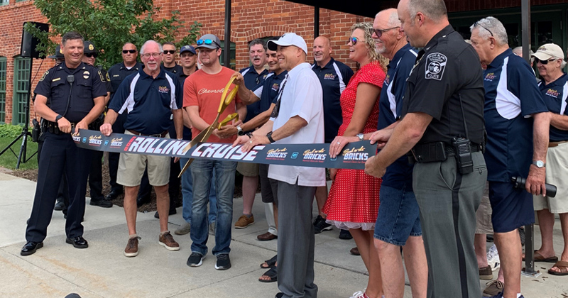 Back to the Bricks kick-off return of road rallies with ribboncutting
